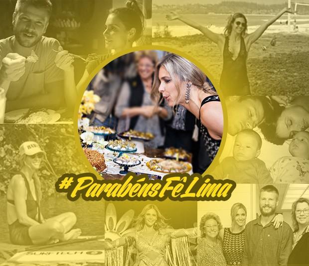 Card de aniversário - Fernanda Lima (Foto: Gshow)