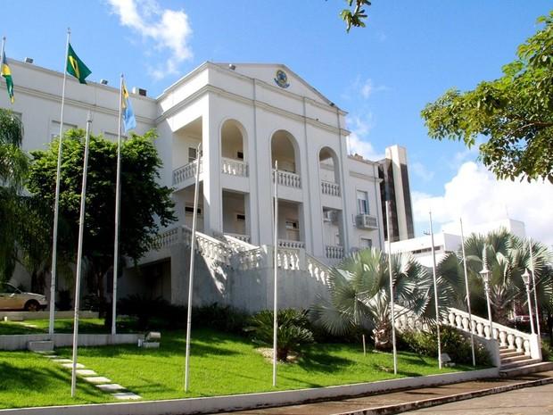 Palácio Getúlio Vargas em Porto Velho (Foto: Decom/Divulgação)