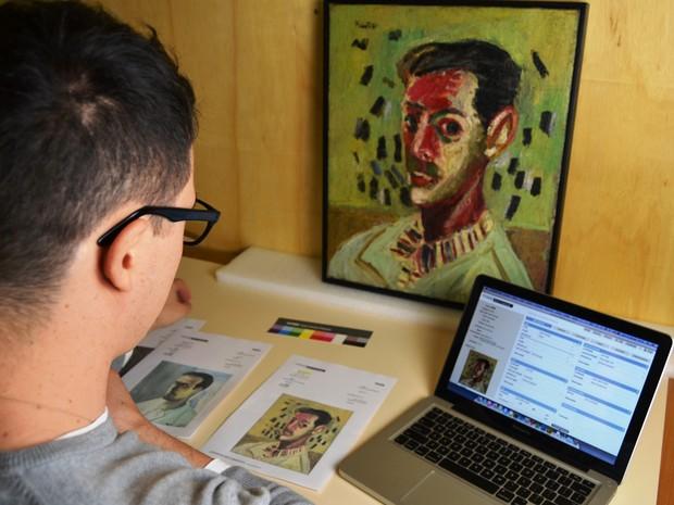 Acervo digital vai disponibilizar mais de quatro mil obras e centenas de documentos. (Foto: Elvira Tomazoni Fortuna/Divulgação)