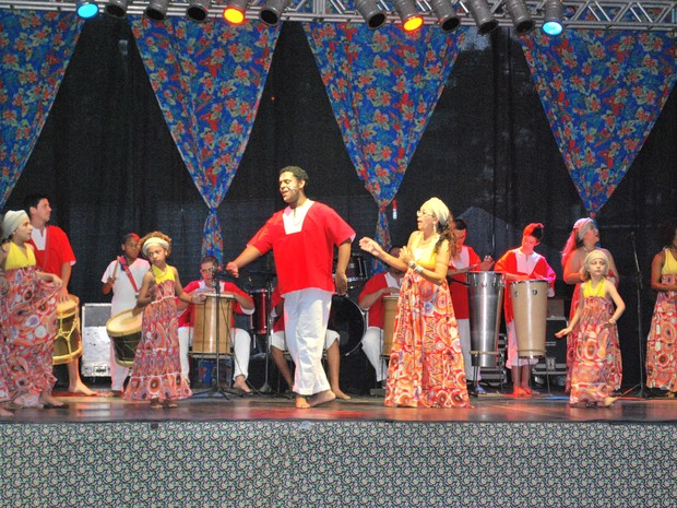 Festa do Folclore reúne atrações culturais em Valinhos, SP (Foto: Rodolfo Soares)