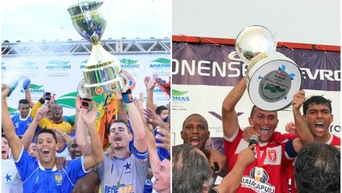 Nacional e Princesa são os últimos campeões amazonenses (Foto: GloboEsporte.com)