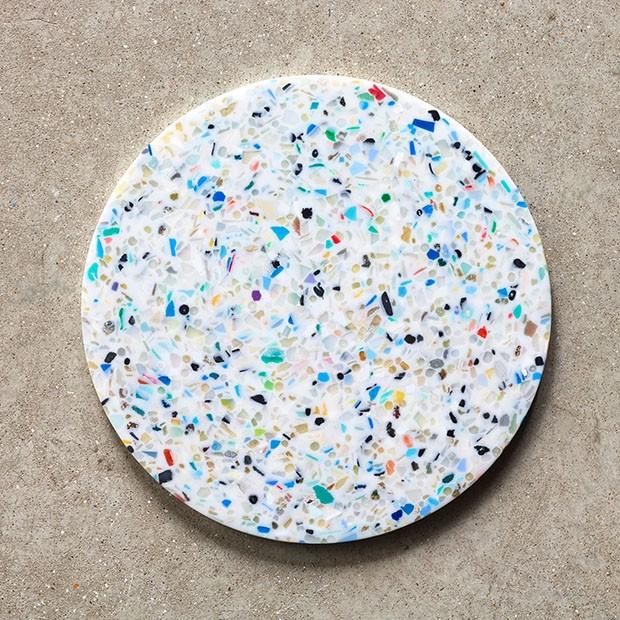 London Design Festival 2017: plástico retirado dos oceanos vira instalação (Foto: divulgação e reprodução)