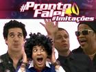 Tiago Leifert aparece soltinho imitando os técnicos no #ProntoFalei