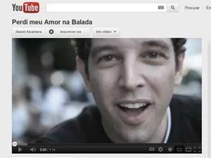 Vídeo postado por jovem virou hit na web (Foto: Reprodução/You Tube)