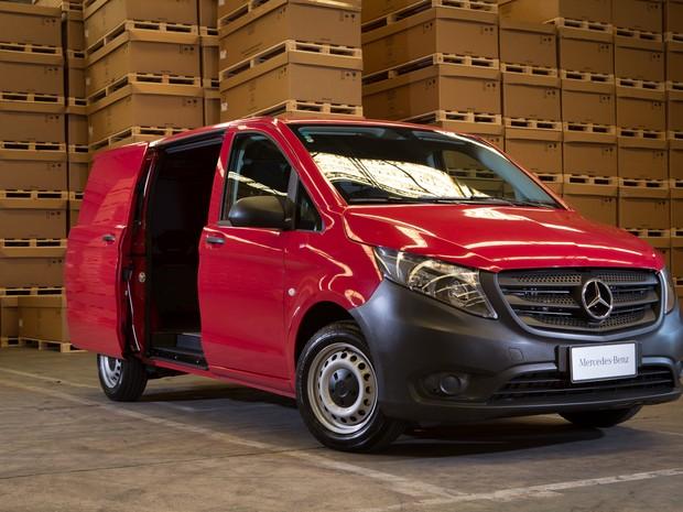 Mercedes-Benz Vito Furgão (Foto: Divulgação)