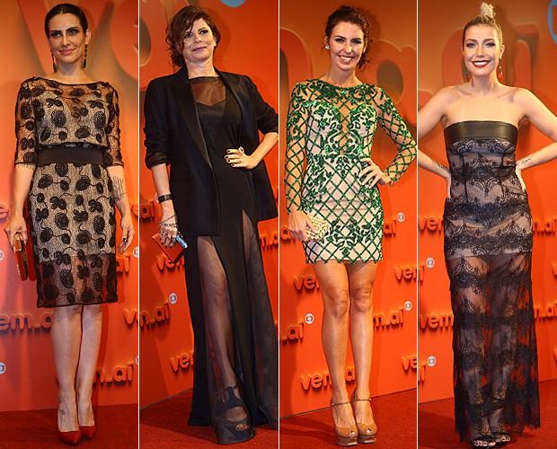 b953428ad EGO - Famosas apostam em looks no tom azul royal na festa do 'Vem aí ...