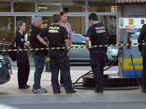 Operação da Polícia Federal combate crimes contra combustíveis (Foto: Reprodução EPTV)