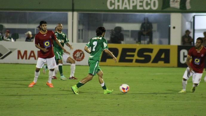 Inter de Lages x Chapecoense (Foto: Greik Pacheco/Inter de Lages)