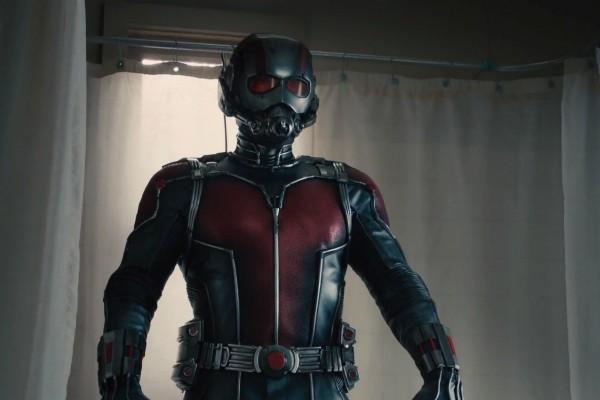 Paul Rudd com o uniforme do Homem-Formiga (Foto: Reprodução)