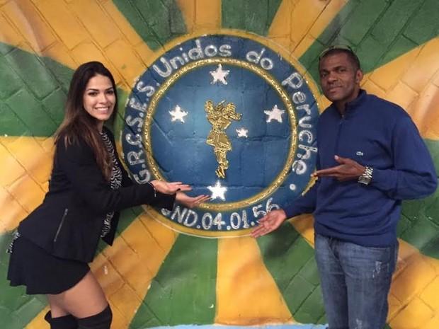 Nuelle Alves e Ney (Foto: Divulgação)