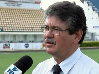 Edson Antônio Ermenegildo, presidente do Mirassol (Foto: Reprodução / TV TEM)