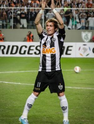 Bernard, Atlético-MG, Independência (Foto: Bruno Cantini / Site Oficial do Atlético-MG)