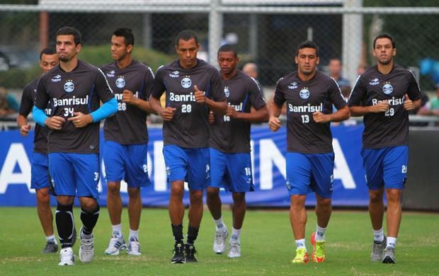 grêmio treino olímpico (Foto: Lucas Uebel/Grêmio FBPA)