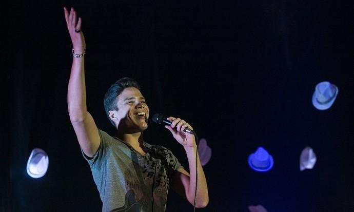 O vozeirão de Marcos Lessa está entre as atrações do The Voice Pocket. (Foto: Bruno Sampaio / Equipe Marcos Lessa)