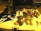 Suspeitos de roubar loja de artigos esportivos no DF são presos