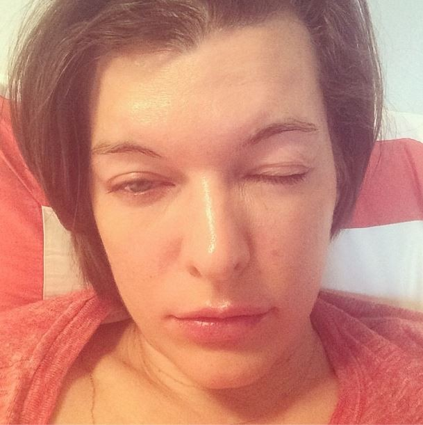 EGO - Milla Jovovich a... Milla Jovovich Instagram