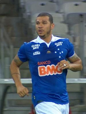 Volante Nilton, do Cruzeiro (Foto: Reprodução / TV Globo Minas)