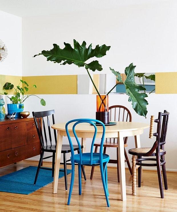 top 10 salas de jantar com mesa redonda (Foto: divulgaçao)