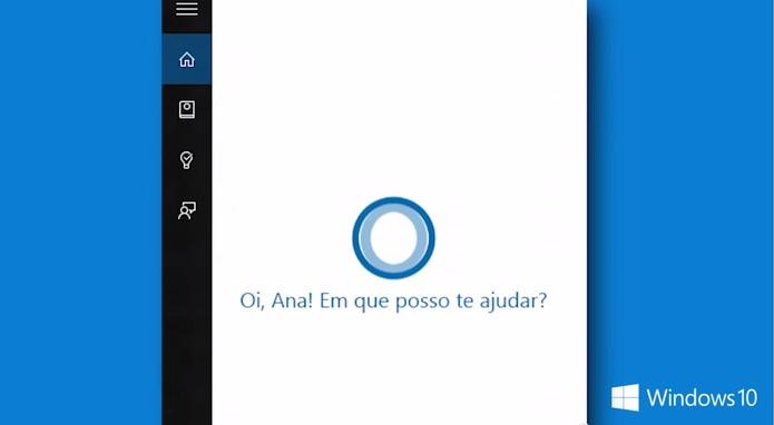 Cortana aprenderá português do Brasil e terá conteúdo local no Windows 10 (Foto: Reprodução/Microsoft) (Foto: Cortana aprenderá português do Brasil e terá conteúdo local no Windows 10 (Foto: Reprodução/Microsoft))