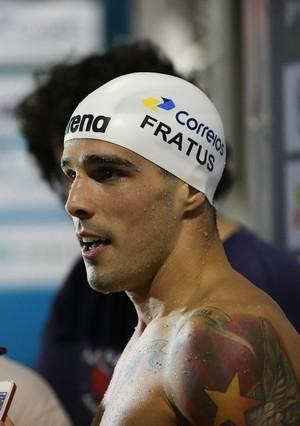 Bruno Fratus ainda vai nadar outras quatro provas no José Finkel (Foto: RICARDOBUFOLIN/ECP)