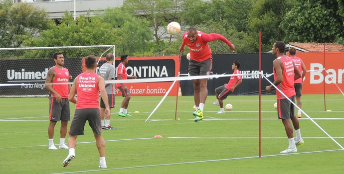 Ernando Alan Costa Alan Ruschel Alex Inter (Foto: Tomás Hammes / GloboEsporte.com)