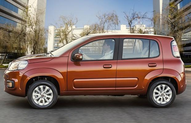 Fiat Uno Evolution (Foto: Divulgação)