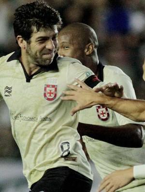 Juninho gol Vasco x Criciúma (Foto: Luciano Belford / Futura Press)