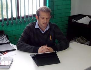 Cadu Gaúcho diretor de futebol Chapecoense (Foto: Aguante/Chapecoense)