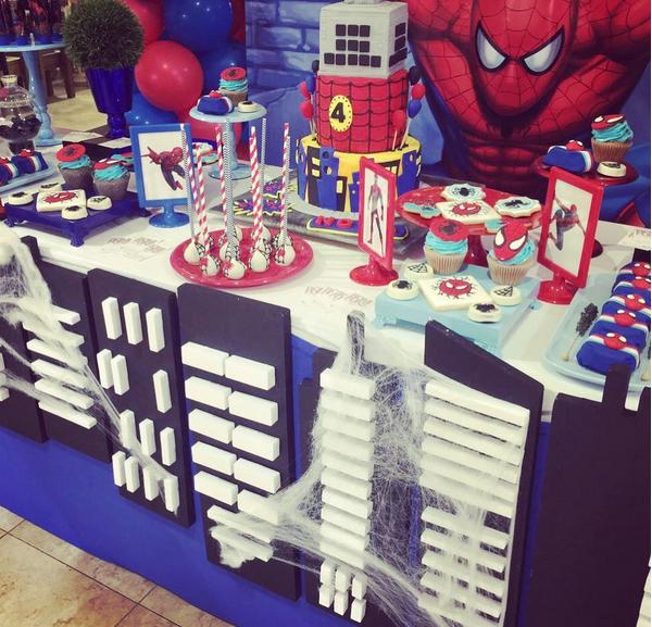 A decoração da festa de aniversário do filho de Michael Bublé (Foto: Instagram)
