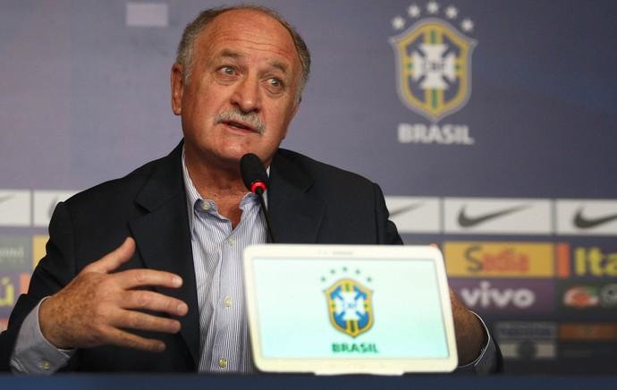Luiz felipe scolari felipão brasil seleção brasileira convocação (Foto: Mowa Press)