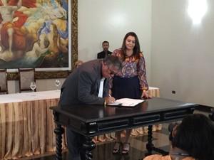 Novo secretário da Sesp, o militar Paulo César costa afirmou que está preparado para os desafios da pasta (Foto: Inaê Brandão/G1 RR)