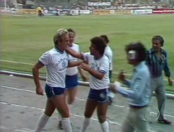 Francisco Cuoco já fez sucesso como jogador de futebol (Foto: Domingão do Faustão/TV Globo)