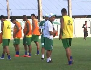 Coruripe, treino (Foto: Reprodução/TV Gazeta)