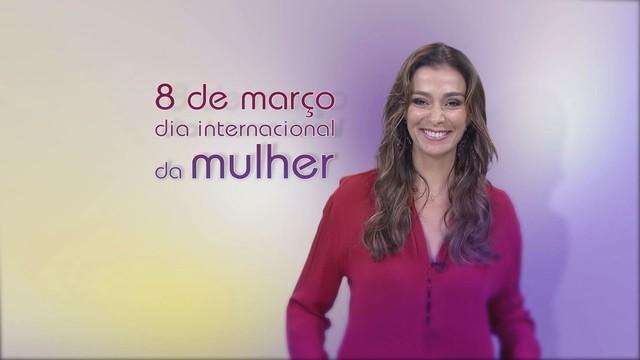 Homenagem da TV Tribuna ao Dia da Mulher (Foto: Reprodução / TV Tribuna)