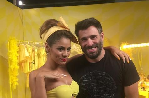 A cantora Lexa e Raoni Carneiro (Foto: Divulgação)