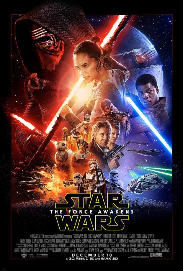 Cartaz oficial do novo Star Wars é divulgado (Foto: Divulgação/Lucasfilm)