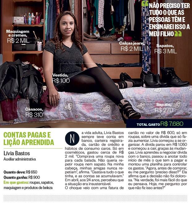 Lívia Bastos (Foto: Camila Fontana/ÉPOCA)