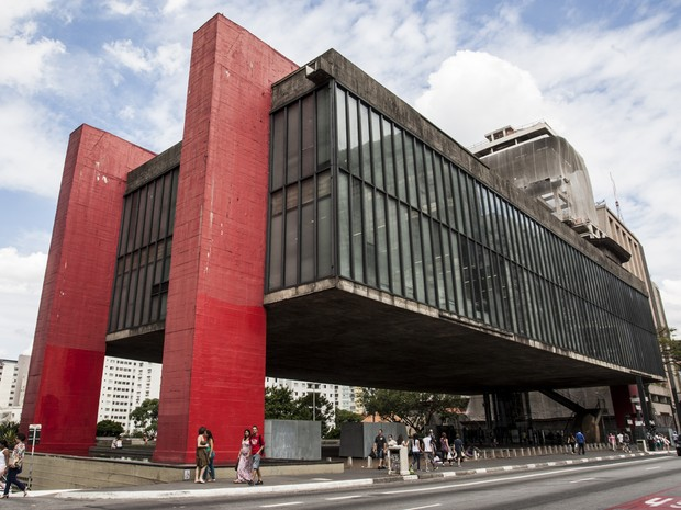 Museu de Arte de São Paulo, Masp (Foto: Vagner Campos/TV Globo)