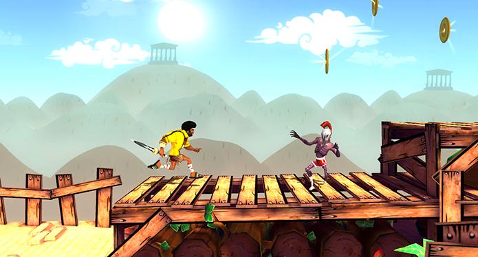 Funk of Titans é mais um game de plataforma genérico (Foto: Reprodução)