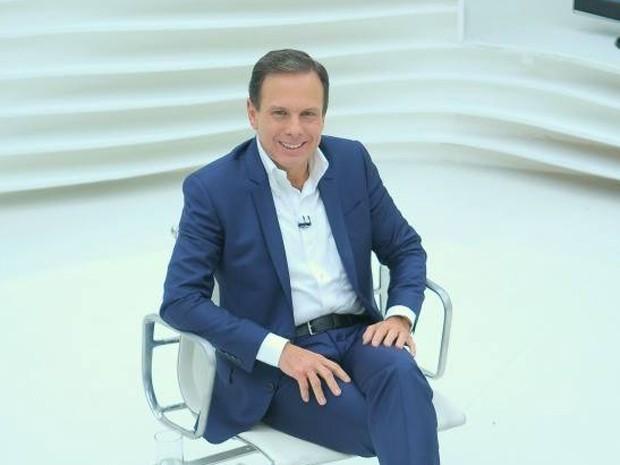 Doria em entrevista ao Roda Viva  (Foto: Divulgação)