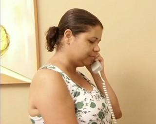 Moradores do Cantagalo, Barra Mansa, estão há mais de 40 dias sem telefone (Foto: Reprodução RJTV 2ª Edição)