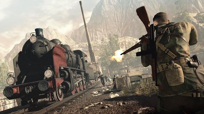 Em Sniper Elite 4, partir para o confronto direto é o último recurso (Foto: Divulgação/Rebellion)