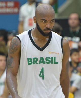 Larry Taylor Jogo das Estrelas NBB (Foto: Vitor Geron)