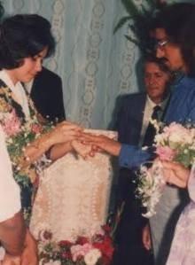 Adílio e Gláucia se casaram em 1995 e tiveram dois filhos (Foto: Arquivo pessoal)