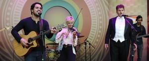 Rock, música erudita, sertanejo e samba agitam 'Paneiro'; reveja a mistura musical do programa (Katiúscia Monteiro/ Rede Amazônica)