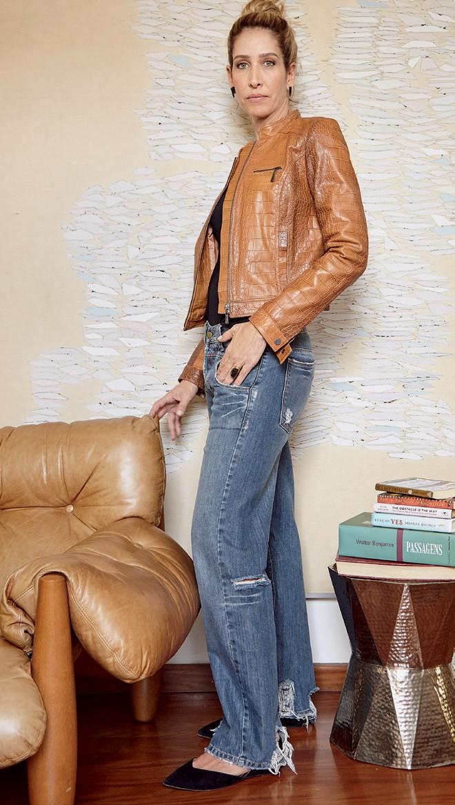 Jaqueta (R$ 2.989) e calça (R$ 399), ambas Twenty Four Seven (Foto: Cassia Tabatini)