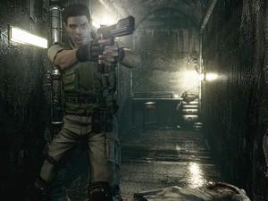 Chris Redfield é protagonista do primeiro 'Resident Evil', que será relançado (Foto: Divulgação/Capcom)