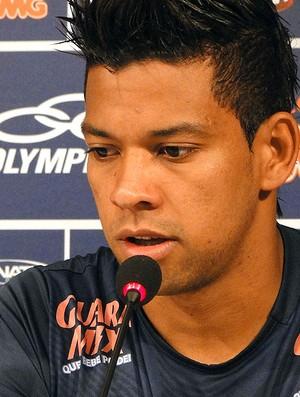 Wallyson, atacante do Cruzeiro (Foto: Marco Antônio Astoni / Globoesporte.com)