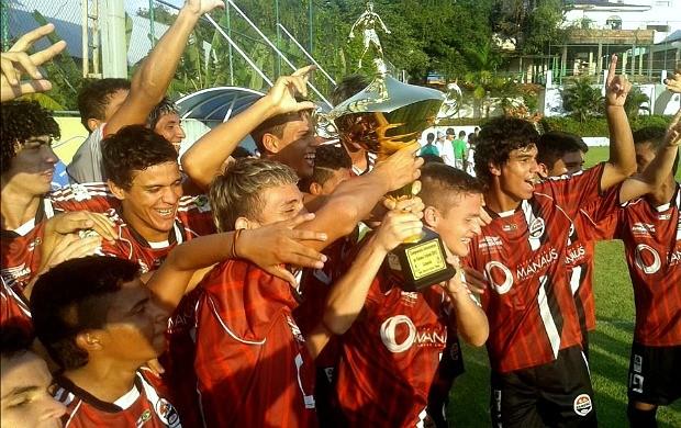 Tarumã campeão do 1º turno do infantil amazonense (Foto: Divulgação/Tarumã FC)