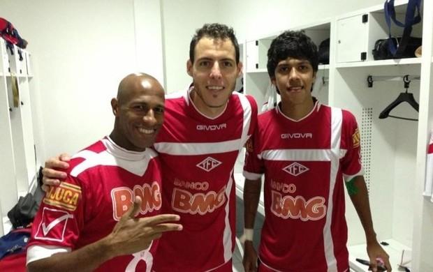 Joilson, Willian e Betinho (Foto: Arquivo pessoal do jogador)